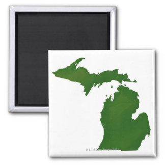 Map of Michigan Magnet
