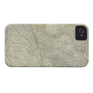 Map of Middle East iPhone 4 Case-Mate Case