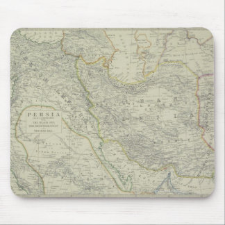 Map of Middle East Mouse Mat