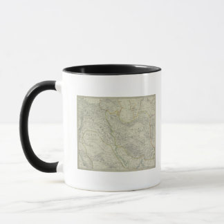 Map of Middle East Mug