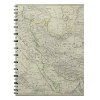 Map of Middle East Notebooks