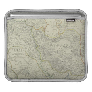Map of Middle East Sleeves For iPads