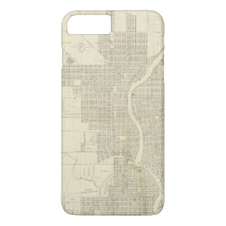 Map of Milwaukee iPhone 8 Plus/7 Plus Case