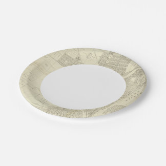 Map of Milwaukee Paper Plate