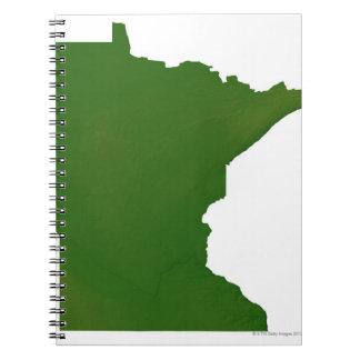 Map of Minnesota 2 Notebooks