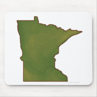 Map of Minnesota Mouse Mat