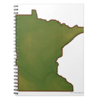 Map of Minnesota Notebooks