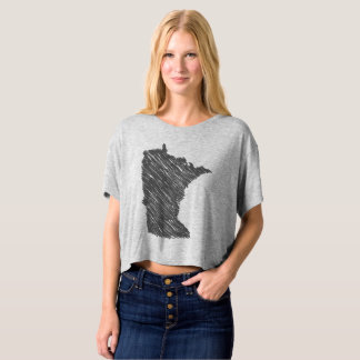Map of Minnesota T-Shirt