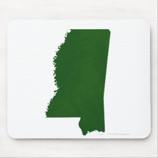Map of Mississippi 2 Mouse Mat