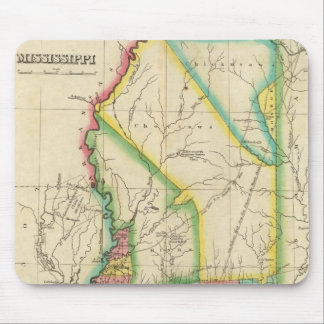 Map Of Mississippi Mouse Mat