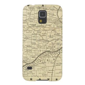 Map of Missouri 2 Galaxy S5 Case
