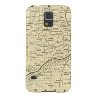 Map of Missouri 2 Galaxy S5 Cover