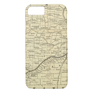 Map of Missouri 2 iPhone 8/7 Case