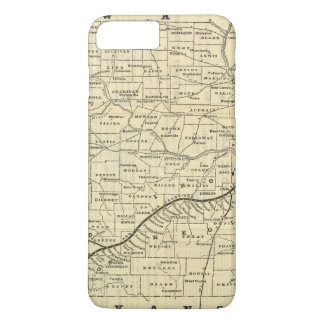 Map of Missouri 2 iPhone 8 Plus/7 Plus Case