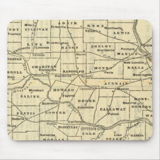 Map of Missouri 2 Mouse Mat