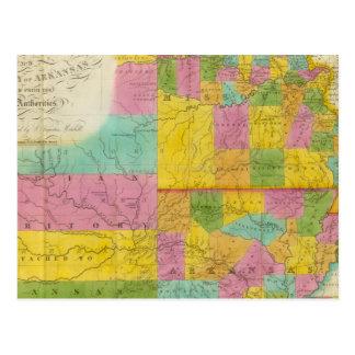 Map of Missouri Postcard