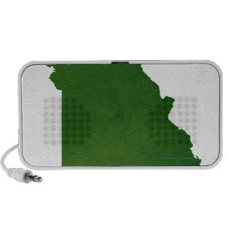 Map of Missouri Mini Speaker