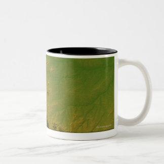 Map of Montana Coffee Mug