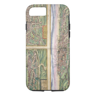 Map of Montpellier, Tours, and Poitiers, from 'Civ iPhone 8/7 Case