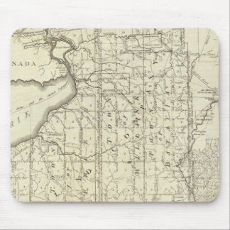 Map of Morris s Purchase or West Geneseo Mousepad