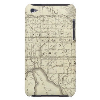 Map of Morris's Purchase or West Geneseo iPod Touch Case