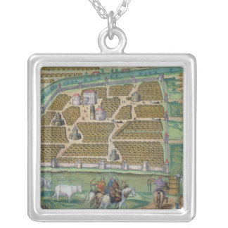 Map of Moscow Custom Necklace