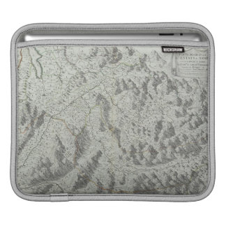Map of Mountains iPad Sleeve