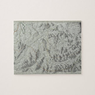 Map of Mountains Jigsaw Puzzle