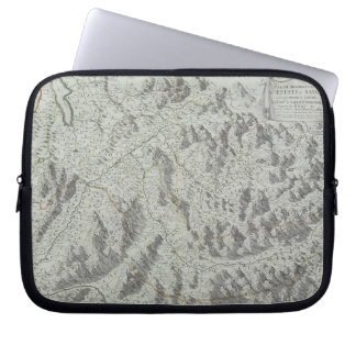 Map of Mountains Laptop Sleeve