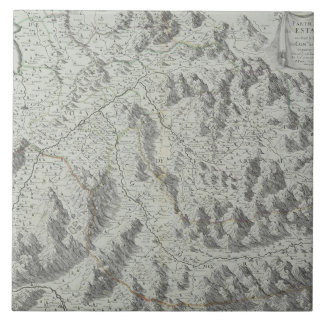 Map of Mountains Tile