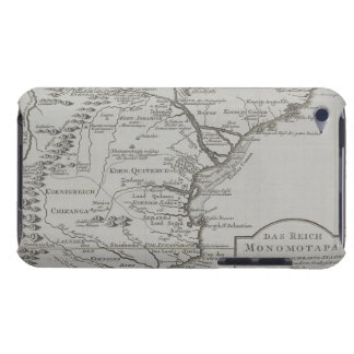 Map of Mozambique, Africa Barely There iPod Covers