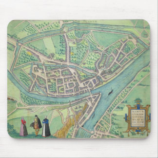 Map of Namur, from 'Civitates Orbis Terrarum' by G Mouse Mat