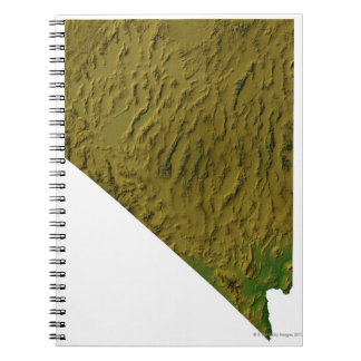 Map of Nevada Note Books