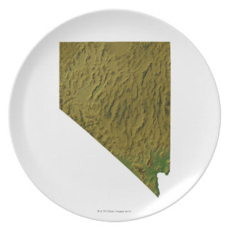 Map of Nevada Plate
