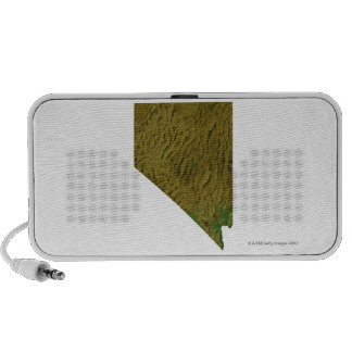 Map of Nevada Mp3 Speaker