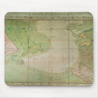 Map of New Discoveries Mouse Mat