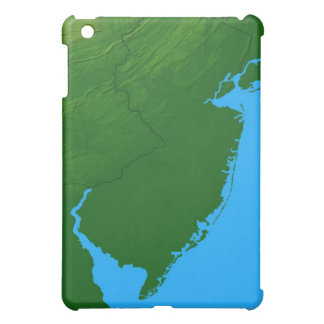 Map of New Jersey iPad Mini Covers