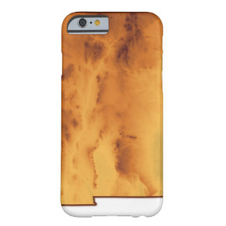 Map of New Mexico Barely There iPhone 6 Case