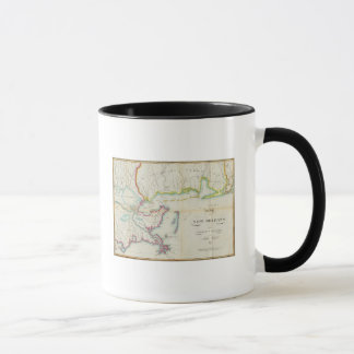 Map of New Orleans and Adjacent Country Mug