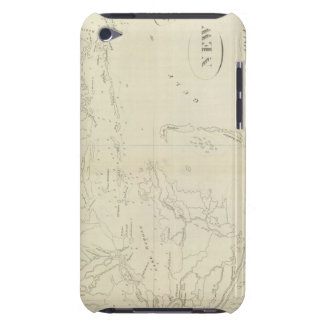 Map of New Orleans Barely There iPod Case