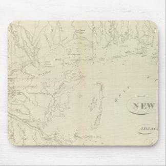 Map of New Orleans Mouse Mat