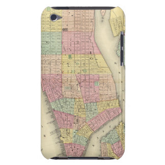 Map Of New York And The Adjacent Cities Case-Mate iPod Touch Case