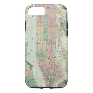 Map of New York and Vicinity iPhone 7 Case