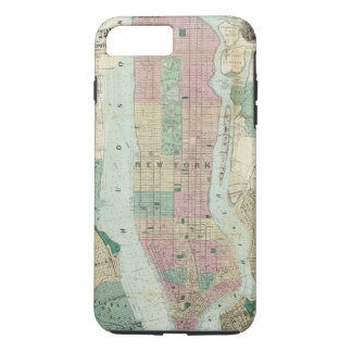 Map of New York and Vicinity iPhone 8 Plus/7 Plus Case