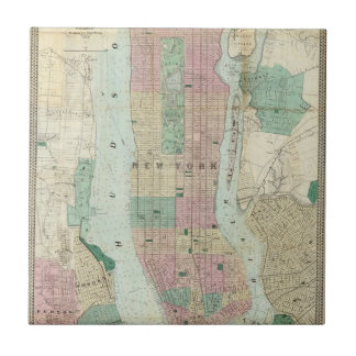 Map of New York and Vicinity Tile