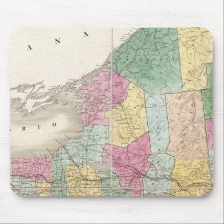 Map of New York Mouse Mat