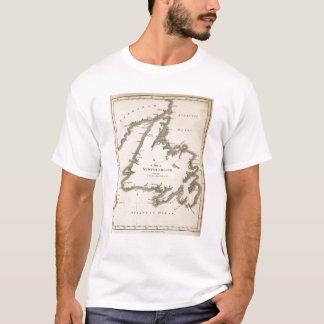 Map of Newfoundland T-Shirt