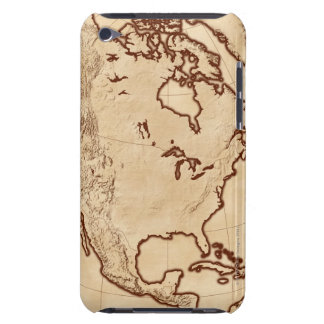 Map of North America 2 iPod Touch Covers