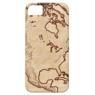 Map of North America 2 Case For The iPhone 5