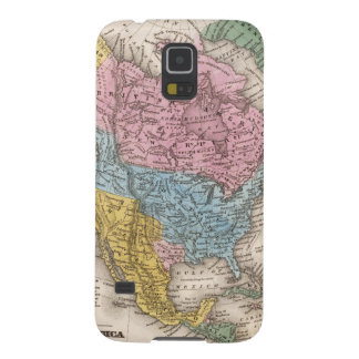 Map of North America 2 Galaxy S5 Cover